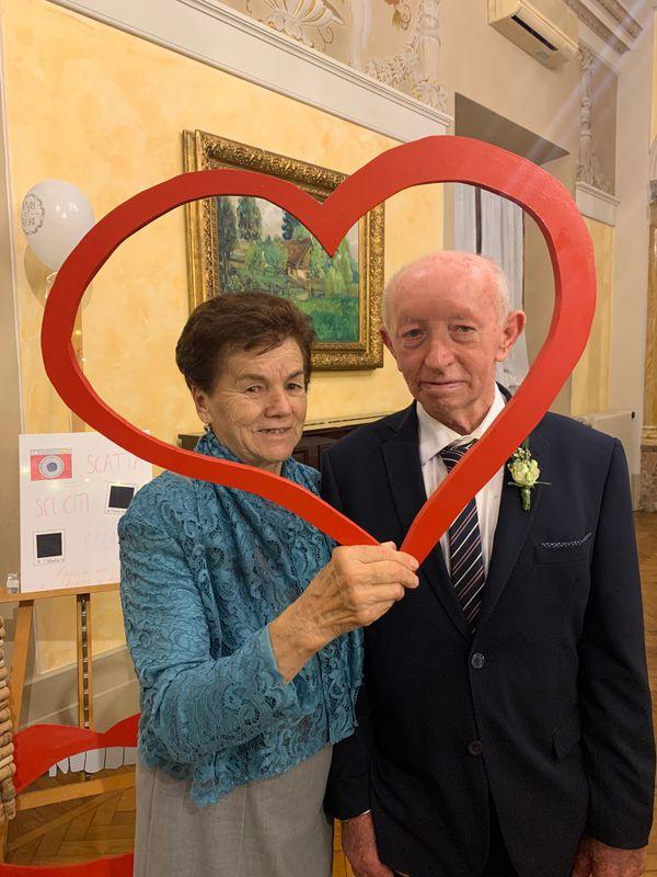 Romana Teoldi e Adriano Traina