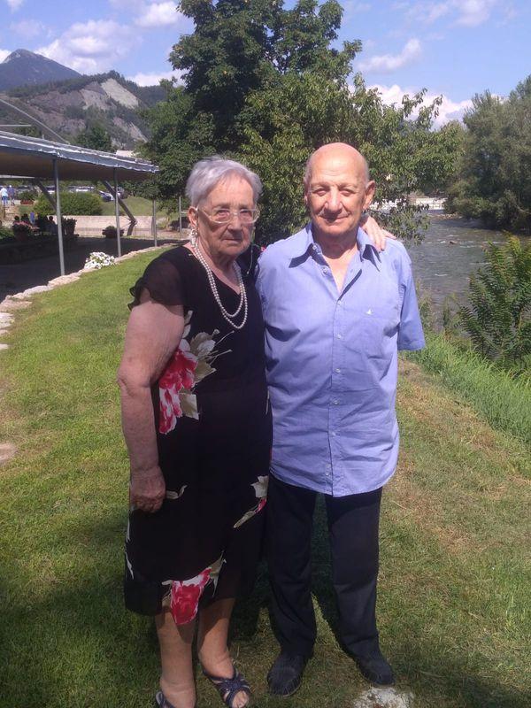 Giacomina e Luigi Fratus
