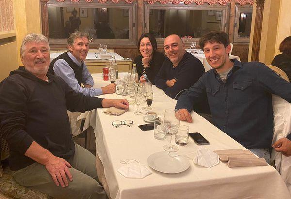 Aldo Locatelli con i suoi ...