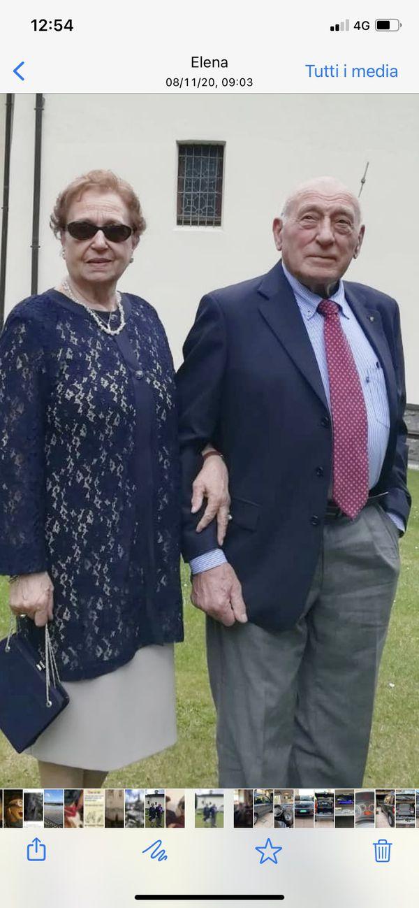 Alma e Mario Manzoni