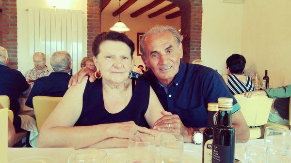 Pierino e Luisa Previtali