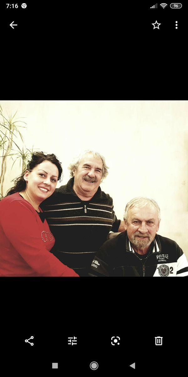 Corinne, Modesto, Gianfranco