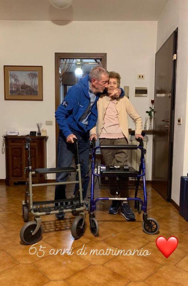 Luciana Giordano e Silvio Fiabon