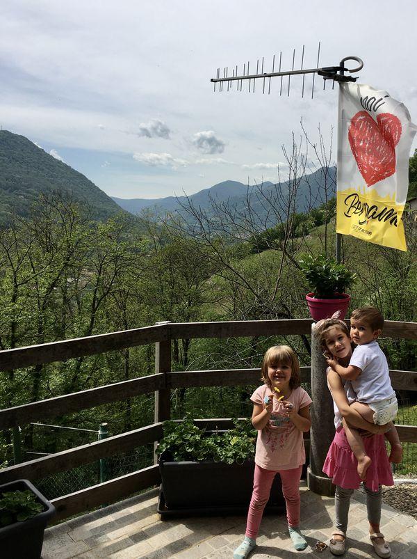 Sofia, Andrea e Noah Cugini