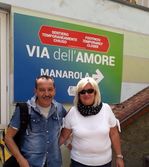 Giovanni Paninforni e Antonella Gianati