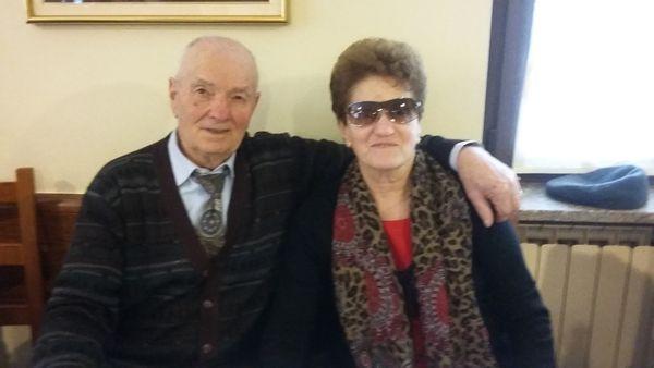 Carla e Giuseppe Bergamini
