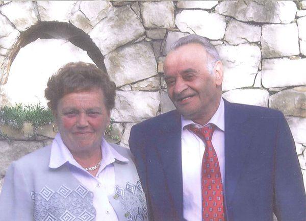 Rosa e Battista Molteni