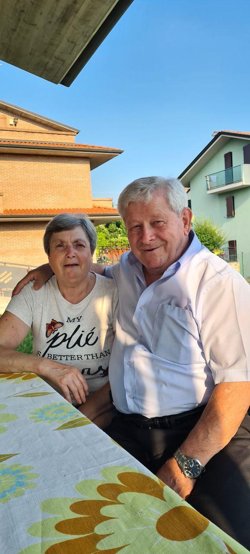 Mariarosa e Mario Balestra