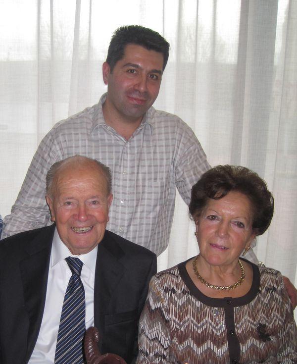 Angela e Francesco Beretta con ...