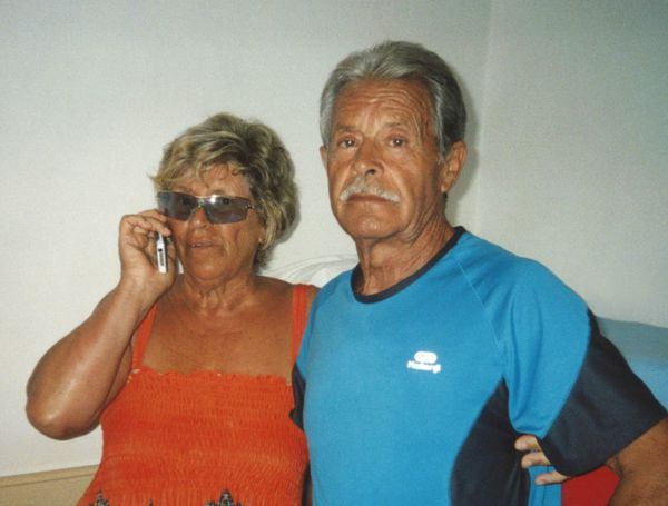 Vinicio e Giuseppina Fidanza