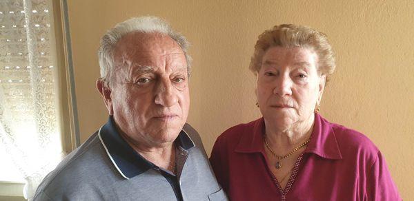 Amalia Fracassetti e Mario Aresi