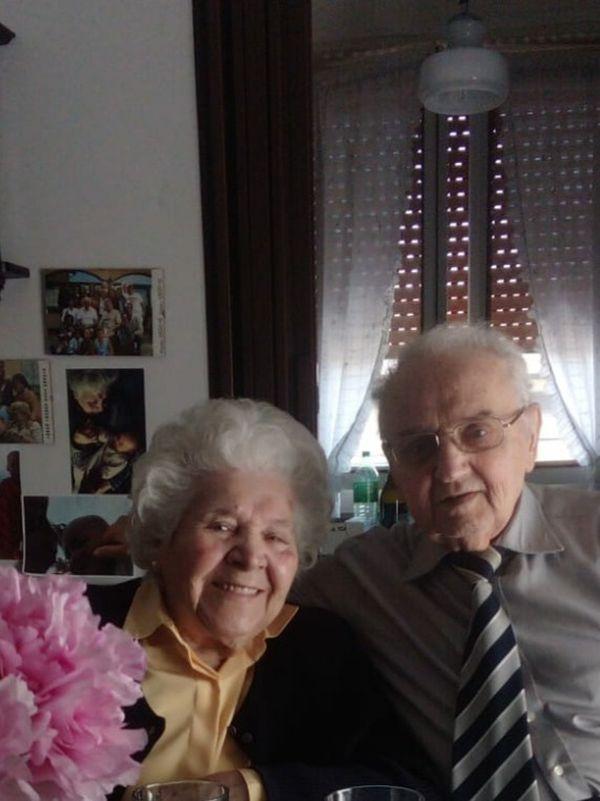 Lucia Baldassari e Giuseppe Stucchi