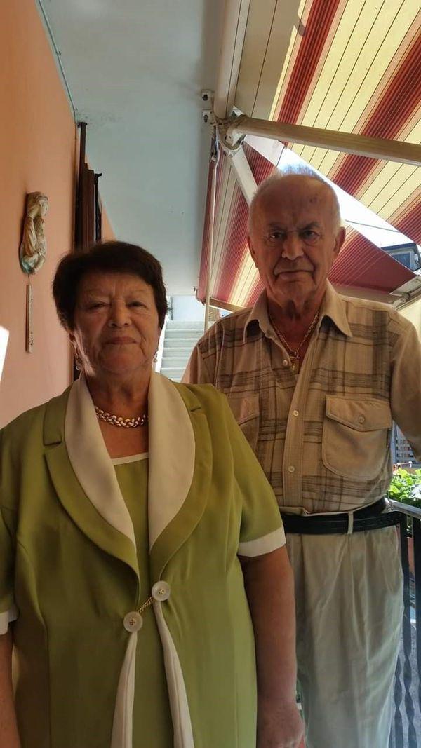 Natalina e Cesare Marchesi
