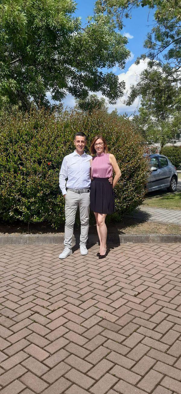Sandy Ruffoni e Francesco Gabbiadini
