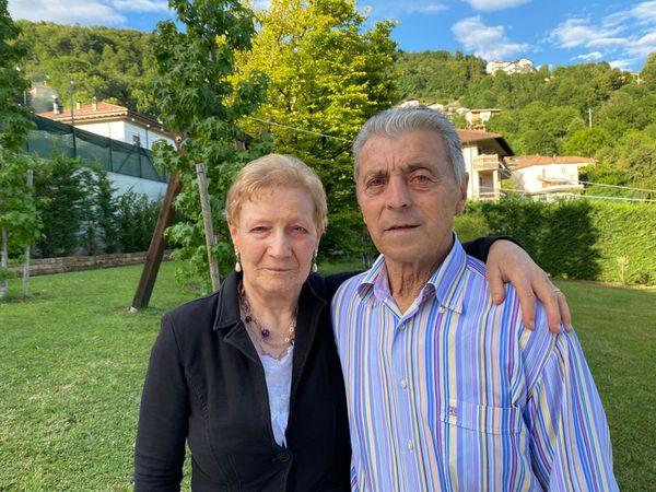 Gemma Locatelli e Domenico Tiraboschi