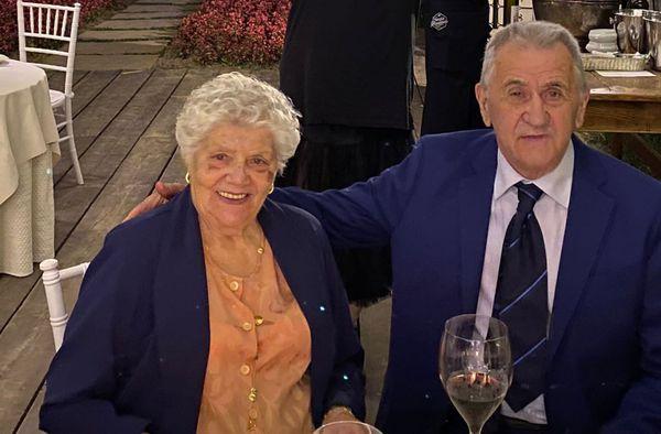 Celestina Bresciani e Zaverio Arnoldi