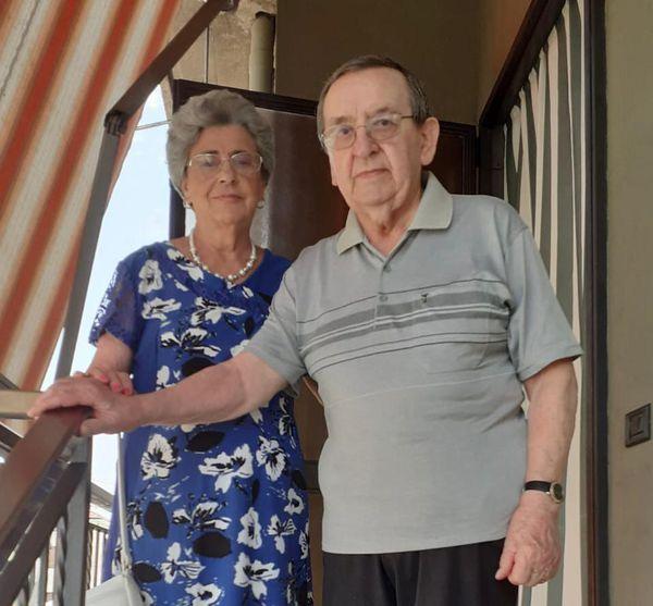 Maria e Lino Quadri