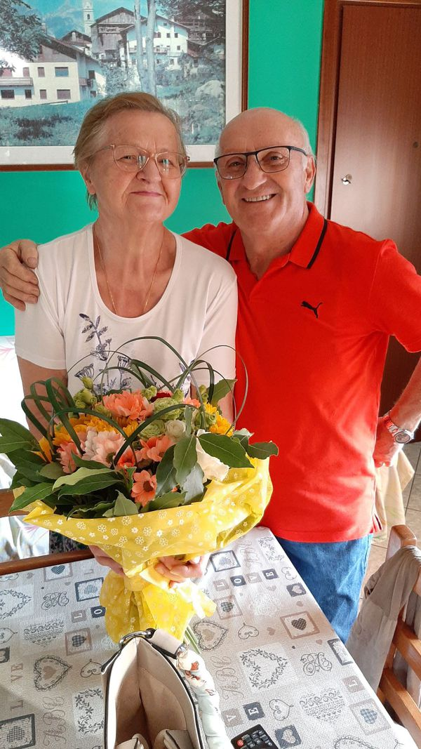 Giuseppina e Giovanni Ponti